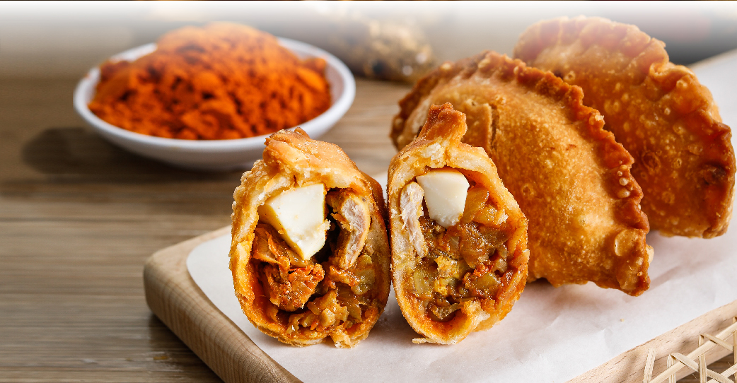 Authentic Curry Puffs,